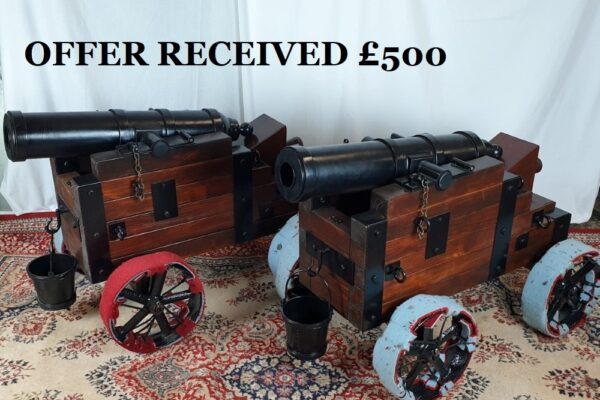 Sold afterwards £500